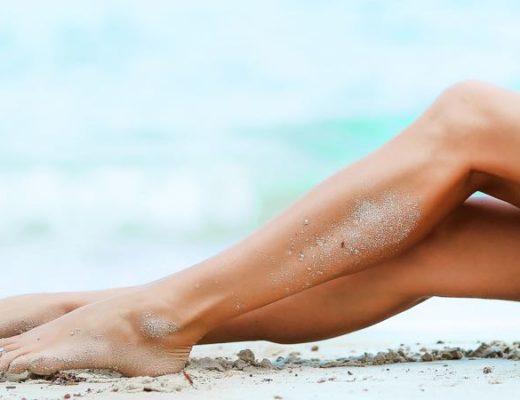 schone Beine Sommer